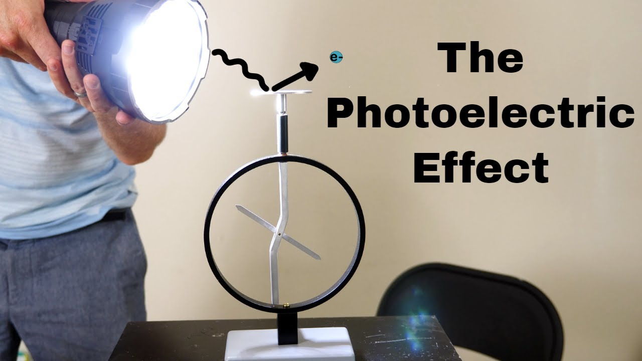 Knocking Electrons With Light-The Photoelectric Effect